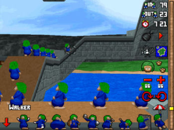 PlayStation: Lemmings 3D