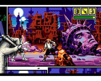 Comix Zone est un jeu vidéo Megadrive publié par Sega en 1995. Il se