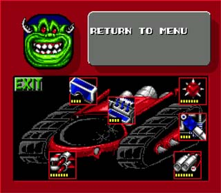 Rock N' Roll Racing est un jeu vidéo Megadrive publié par Interplay