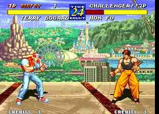 Test du jeu vidéo Fatal Fury 3 sur Neo Geo • Emu Nova