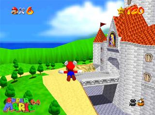 Super Mario 64 est un jeu vidéo Nintendo 64 publié par Nintendo en