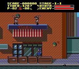 Ninja Gaiden est un jeu vidéo PC Engine publié par Hudson Soft en