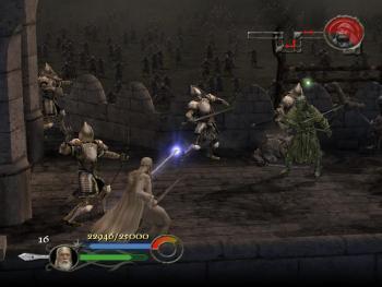 brillance des couleurs large choix de couleurs avant-garde de l'époque Test du jeu vidéo Le Seigneur des Anneaux : Le Retour du Roi ...